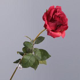 """Цветок искусственный """"роза"""" длина65 см."""