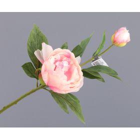 """Цветок искусственный """"пион"""" длина39 см."""