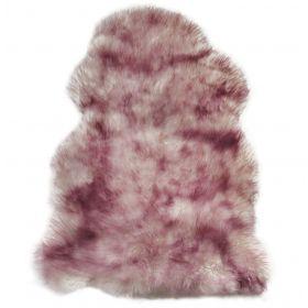 Овчина одношкурная розово-палевая XL