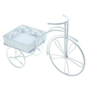 Цветочница велосипед 32*44 см короб ажур