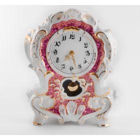 Часы каминные 32см, форма, 6999, Фарфор, leander