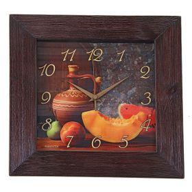 """Часы настенные Кухня """"Кувшин"""", сюжетные, дерево"""