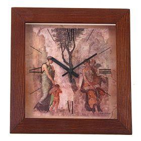 """Часы настенные """"Наказанный Амур"""", сюжетные, дерево"""