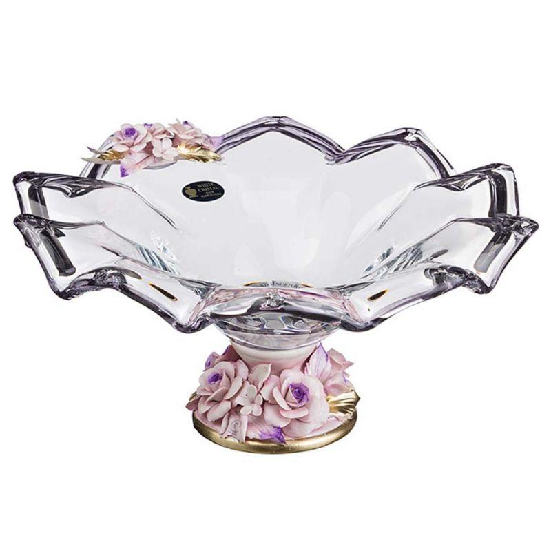 Чаша декоративная, высота-18 см