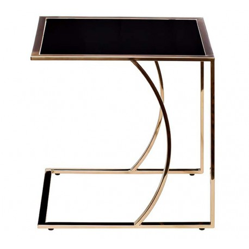 Журнальный стол, металлический каркас