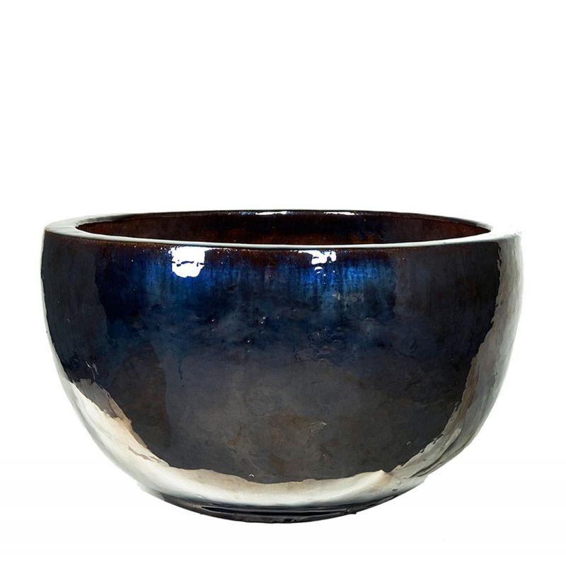 Кашпо Nieuwkoop Metal Glaze Bowl