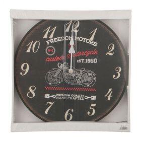 Часы настенные, диаметр-34 см