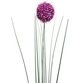 Искусственный цветок Алиум фиолетовый