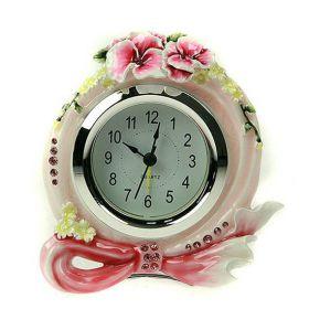 """Часы """"Цветы гибискуса"""""""