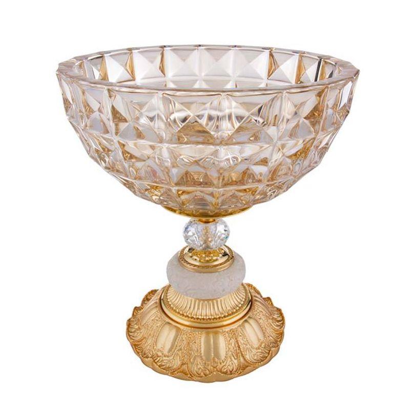Чаша декоративная, высота-30 см