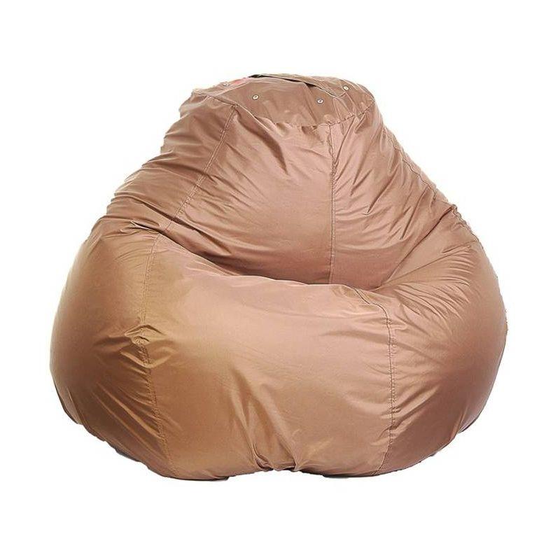 Кресло-мешок основной d110 цв 18 brown нейлон 100% п/э
