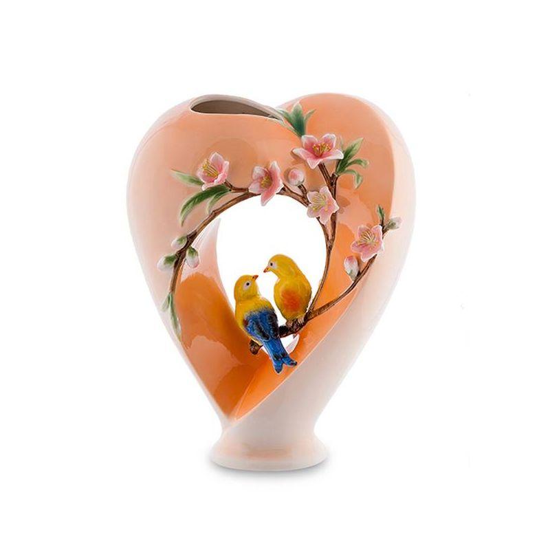 "FM- 16 ваза ""сердце"" (pavone)"