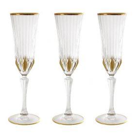 """Набор бокалов для шампанского """"Адажио"""" 6 штук"""