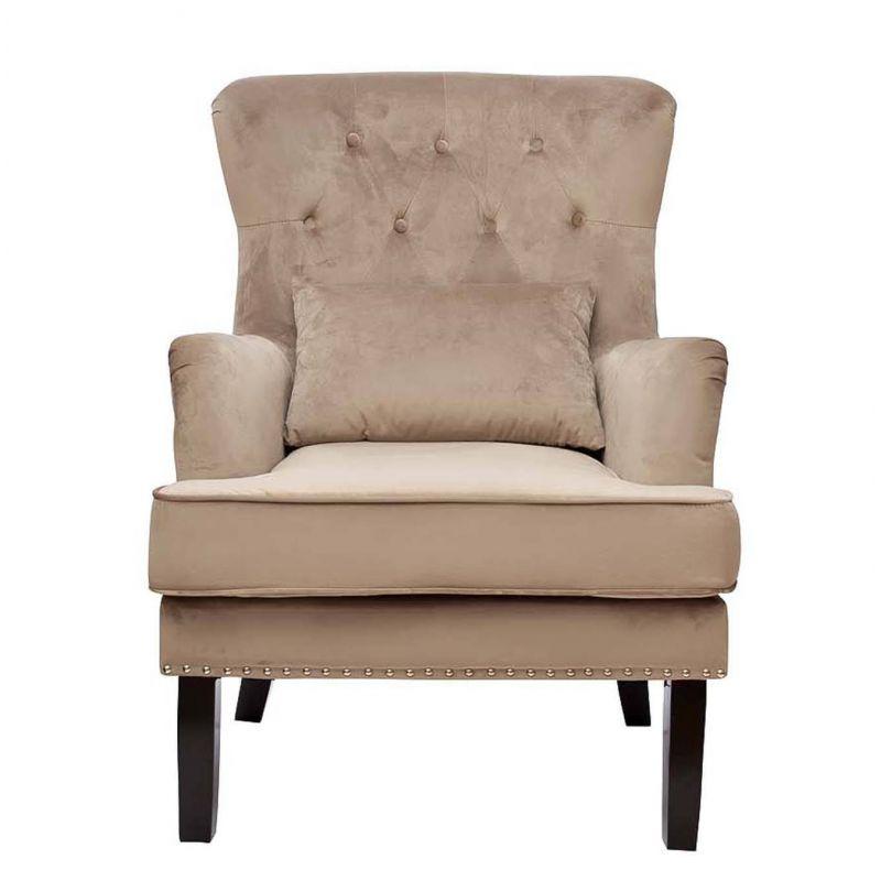 Кресло велюровое