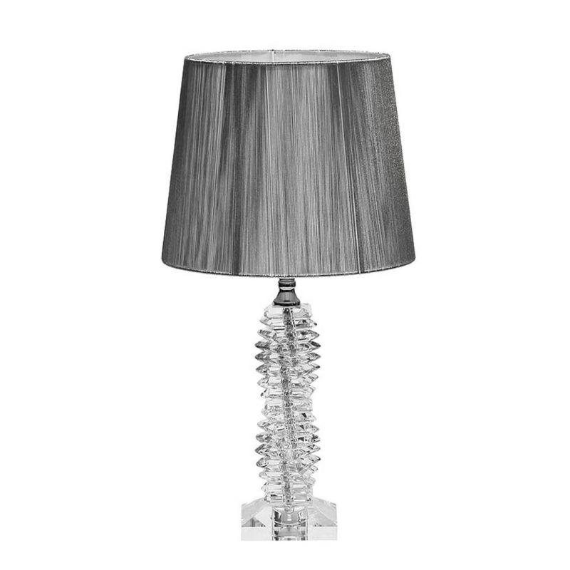 Лампа настольная стеклянная