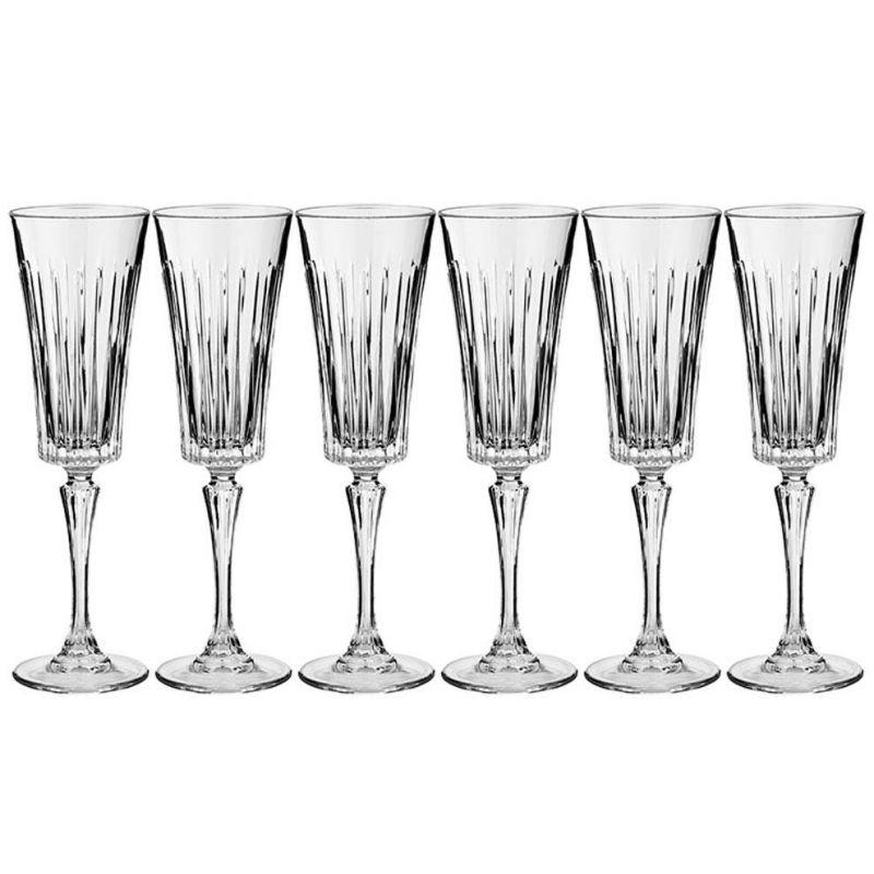 Бокалы для шампанского набор из 6 штук