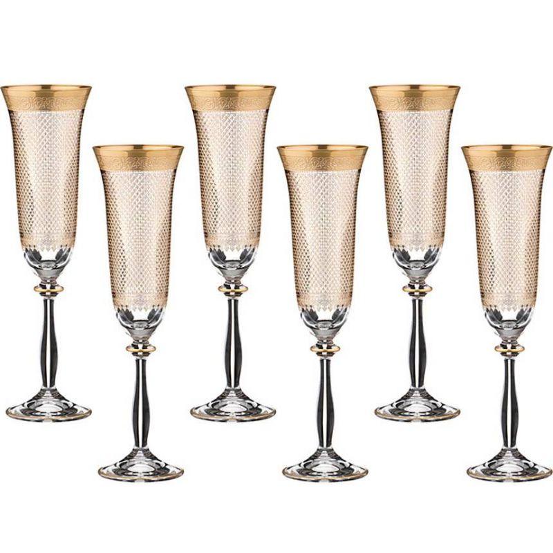 """Набор бокалов для шампанского  6 штук """"Blanco"""""""