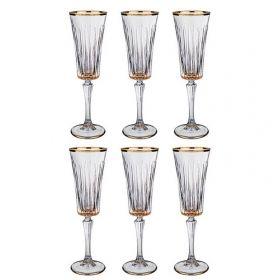 Бокалы для шампанского 6 штук