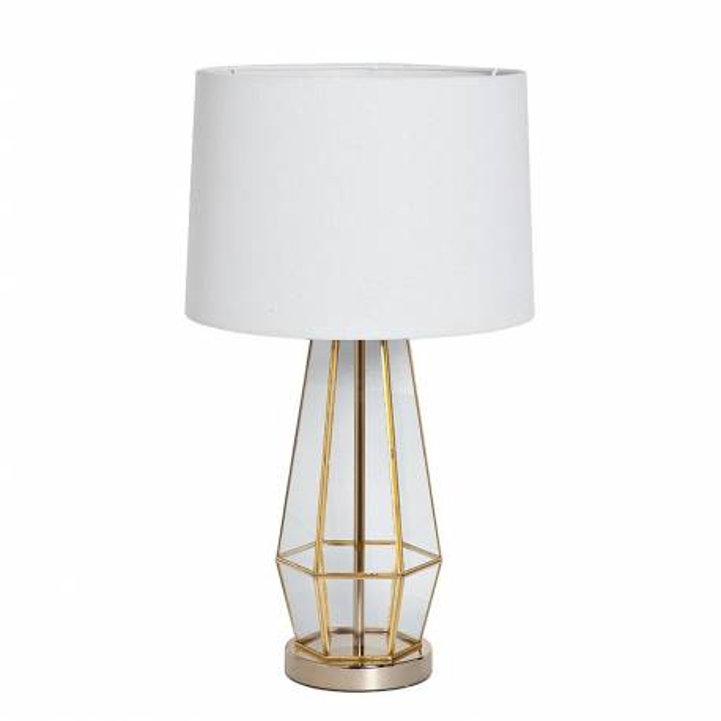 Лампа настольная металлическая