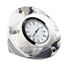 Часы настольные стеклянные