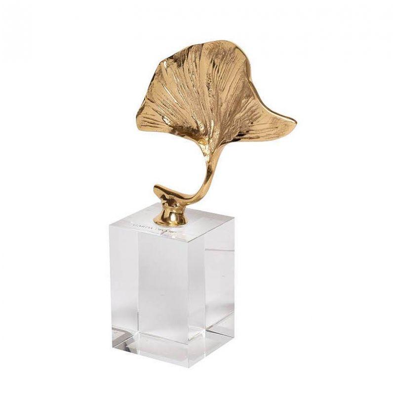 """Статуэтка """"Пальмовый лист"""" на подставке"""