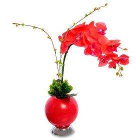 """Светильник """"Орхидея в вазе"""""""