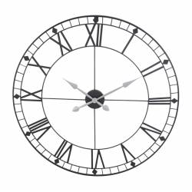 Часы настенные черные