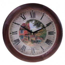 Часы настенные Сюжетные Д3МД/7-144 дерево
