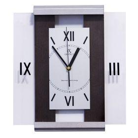 Часы настенные Grance ВЕНГЕ-СЕРЕБРО C-01