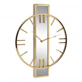 Часы настенные с зеркальной планкой