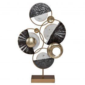 Декор настольный металлический