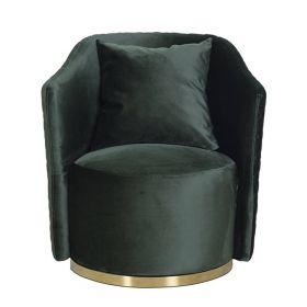 Кресло вращающееся велюровое