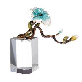 """Декор """"Ветви с голубым цветком"""""""
