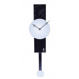 Часы настенные с маятником, белые