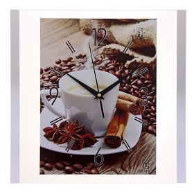"""Часы настенные """"Grance"""" F-Кофе"""
