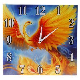 Часы настенные Сюжетные дк520 Жар-птица