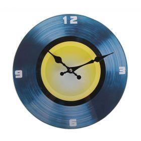 """Часы настенные круг """"Пластинка"""""""