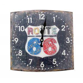 """Часы настенные квадрат """"Route"""""""
