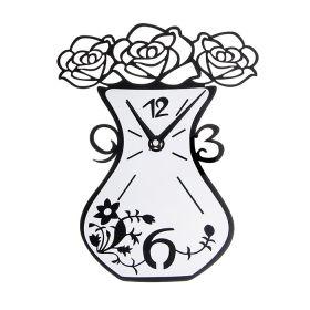 """Часы настенные """"Ваза с цветами"""""""