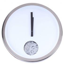 Часы настенные круглые с окошечком для механизма