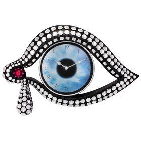 """Часы настенные """"Глаз"""" NERO, черный"""