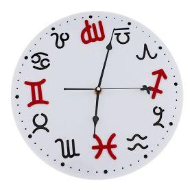 "Часы настенные ""Знаки зодиака"" белые"