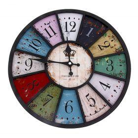 Часы настенные круг Палитра