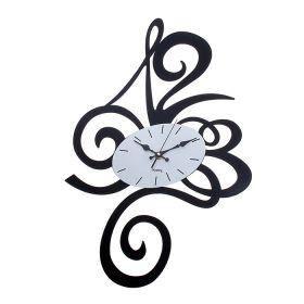 Часы настенные овал, обрамлен большими цифрами