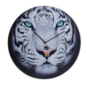 "Часы настенные ""Тигр белый"""