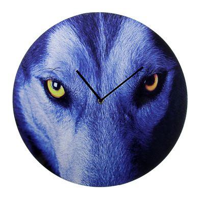 """Часы настенные """"Волчий взгляд"""""""