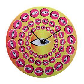 """Часы настенные """"Гипноз глаза"""""""