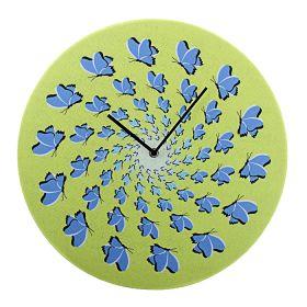 "Часы настенные ""Гипноз бабочки"""