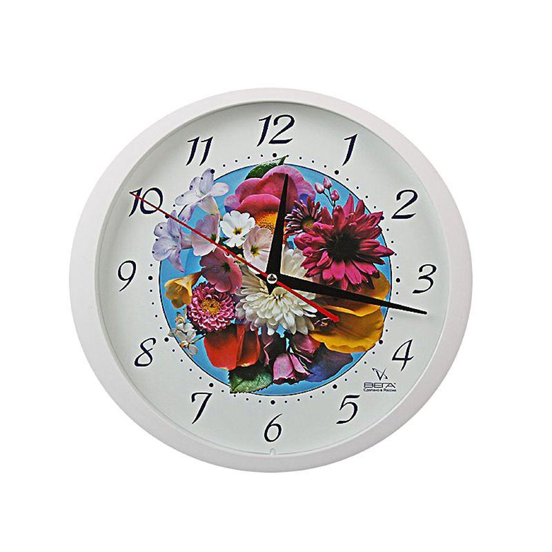 """Часы настенные """"Цветы"""" Букет"""