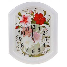 "Часы настенные ""Цветы"" Рисунок"